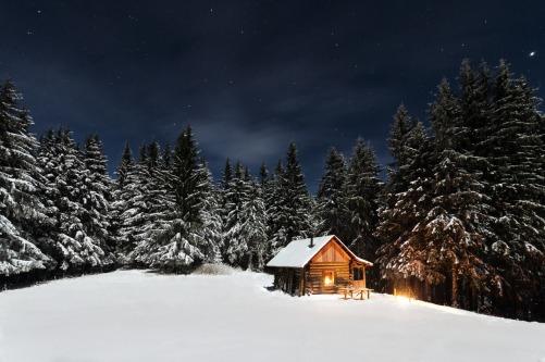 winter-hut
