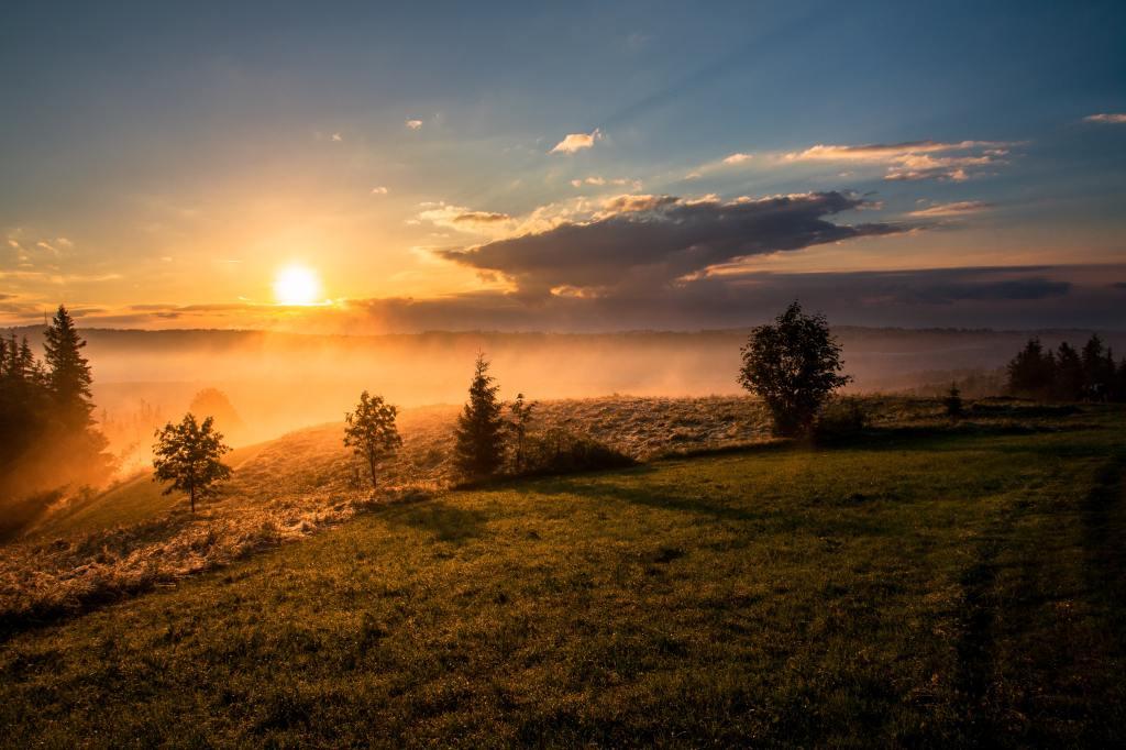 a beautiful sunrise